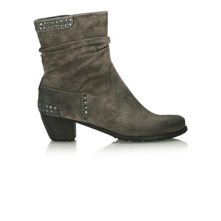 Kennel Und Schmenger Ambra Suede Stud Ankle Boot - Grey