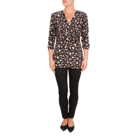 Great Plains Winter Clover Top - Pink