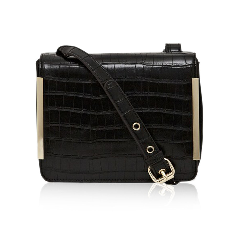French Connection Camila Cross Body Bag Black