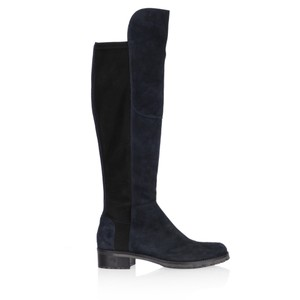 Kennel Und Schmenger Blues Suede Long Flat Boot