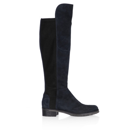Kennel Und Schmenger Blues Suede Long Flat Boot - Blue