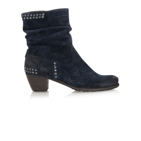 Kennel Und Schmenger Ambra Suede Stud Ankle Boot - Turquoise