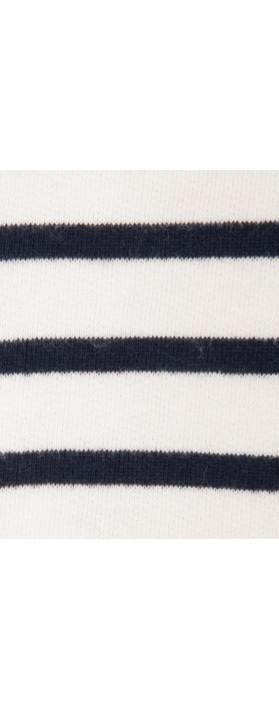 Petit Bateau Stripe Scarf White10