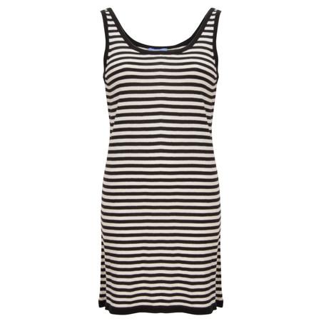 Gemini Woman Tara Stripe Tunic - Black