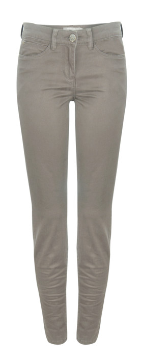 Sandwich Clothing Skinny Cotton Stretch Pants Cement