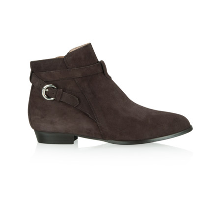 KMB Bobo Buckle Strap Ankle boot - Brown