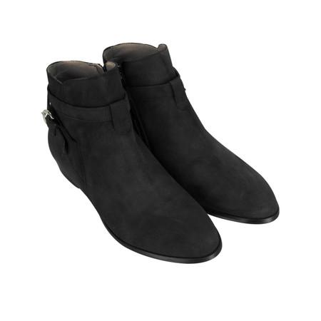 KMB Bobo Buckle Strap Ankle boot - Black