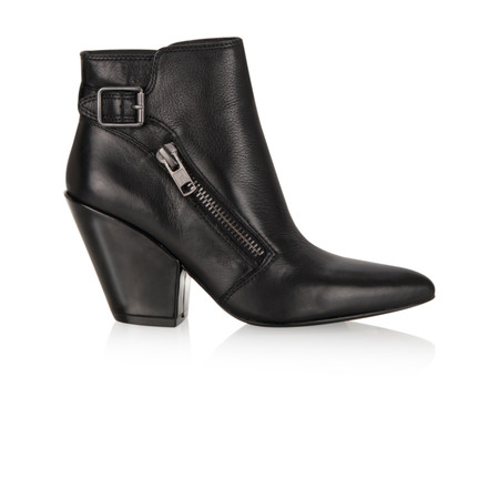 Ash Elium Ankle Boot - Black