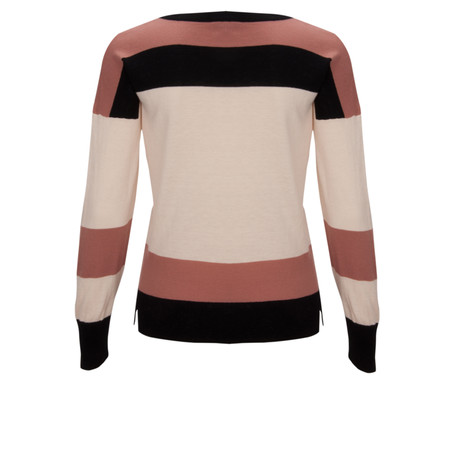 Great Plains Great Stripes Jumper - Black