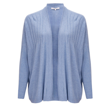 Great Plains Sophie Cashmere Blend Cardigan - Blue