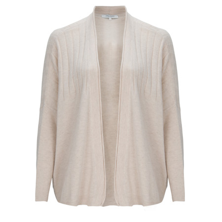 Great Plains Sophie Cashmere Blend Cardigan - White