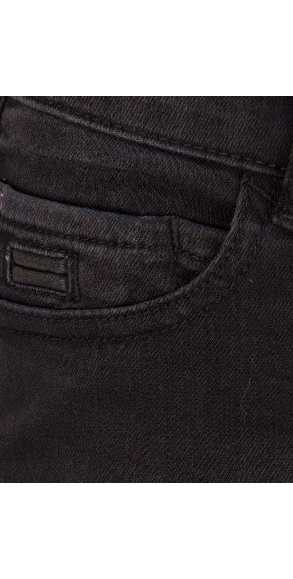 Overdyed Denim Skinny Pants main image